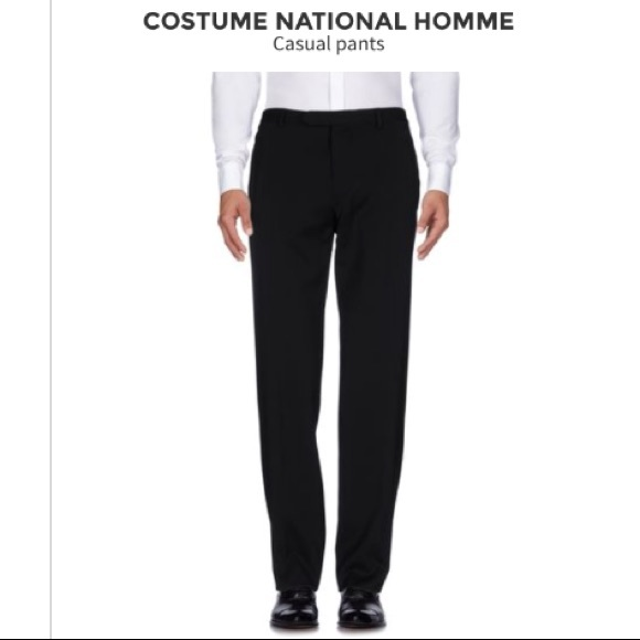 CNC Costume National Other - COSTUME NATIONAL BLACK TROUSERS SIZE ITALIAN 48